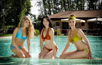 Nausica, Yulia, Diana