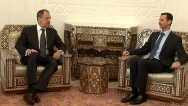 Lavrov e Assad
