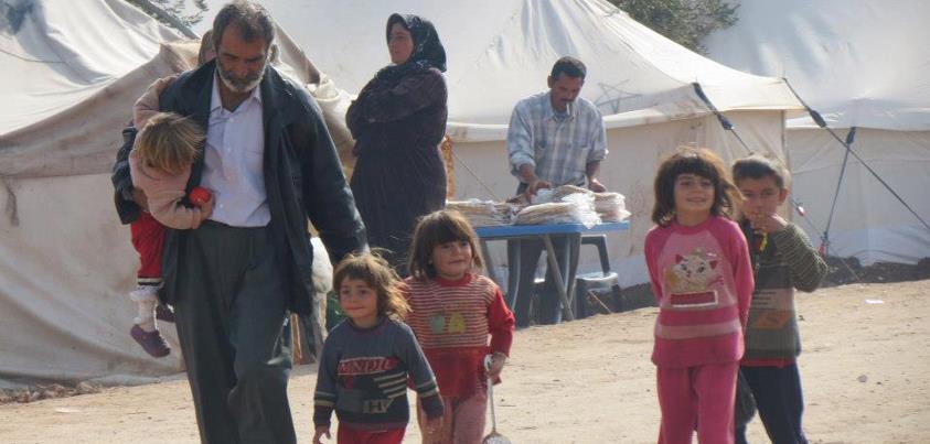 nei campi profughi sperando in vita migliore