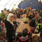 vita nei campi profughi