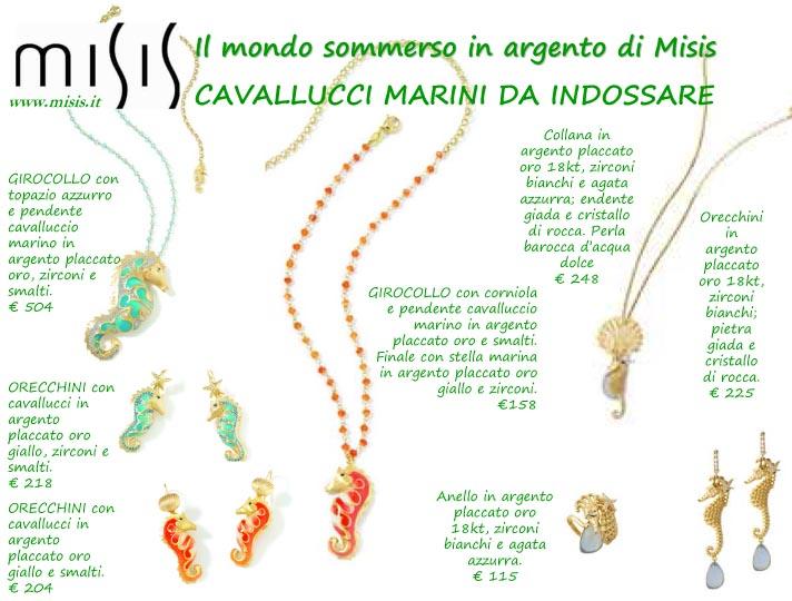 Tendenze oro primavera estate 2013 1channel con gusto - Colorazione cavallucci marini in ...