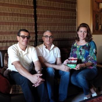 Talal Khrais, Raimondo Schiavone, Maria Saadeh