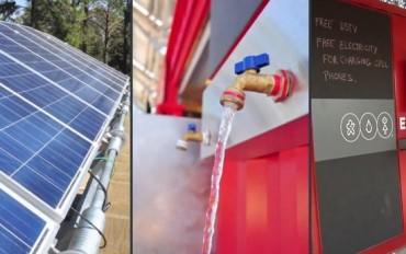 Coca-Cola ha lanciato un piano per l'installazione di pannelli solari in oltre 2.000 rivendite del Kenya, per favorire la diffusione dei telefoni cellulari, dei computer, della radio e di internet