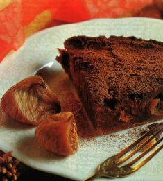 torta di zucca con fichi secchi