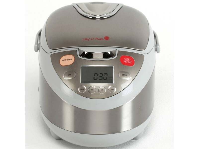 chef o matic il robot da cucina per arrostire friggere cucinare e cuocere al forno al vapore e alla griglia tutto in un unico strumento