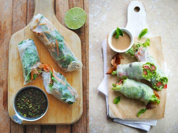 Involtini primavera, la ricetta di cucina etnica fatta in casa ...