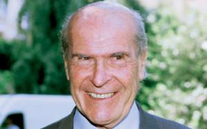 Il Prof. Umberto Veronesi direttore scientifico dell'Istituto Europeo di Oncologia