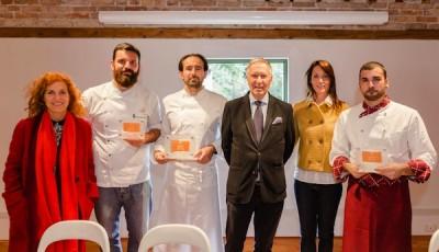 Da sinistra Silvia Ferri, Piergiorgio Siviero, Luca Tomasicchio, Ettore Mocchetti, Elisa Dilavanzo e Alessando De Ruvo