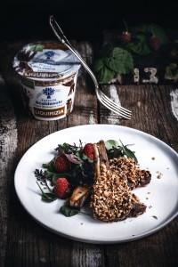 Scottadito con yogurt alla liquirizia Fattoria Scaldasole