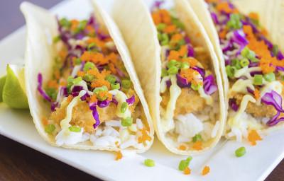 Ahi Katsu Sushi Tacos