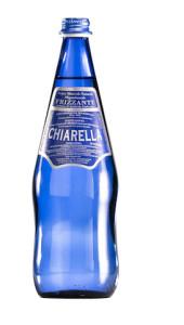 chiarella frizzante vetro blu