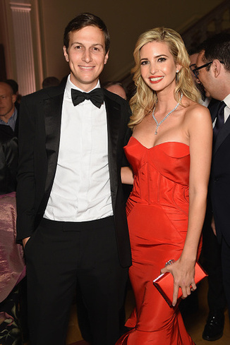 Ivana Tramp and Kushner