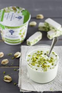 Yogurt Fattoria Scaldasole al pistacchio con torrone