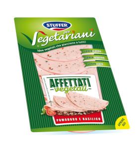Stuffer per Vegetariani_Affettati vegetali_Pomodoro e Basilico_80g
